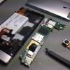 Sony Xperia P SIM olvasó forrasztás