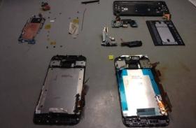 HTC M9 kijelzőcsere