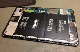LG G Pad II 10.1 komplett kijelzőmodul csere