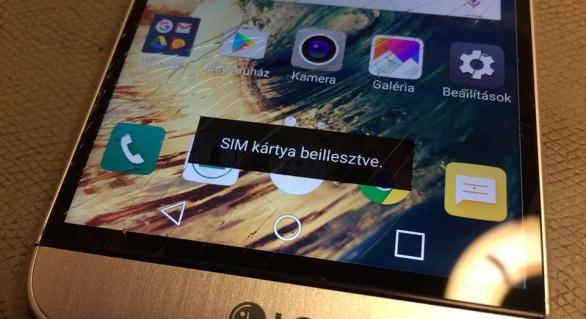 LG G5 SIM és memóriakártya olvasó csere